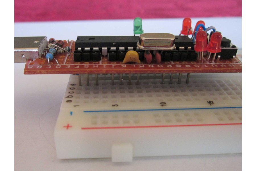 tinyUSBboard - Rev. 3 THT kit