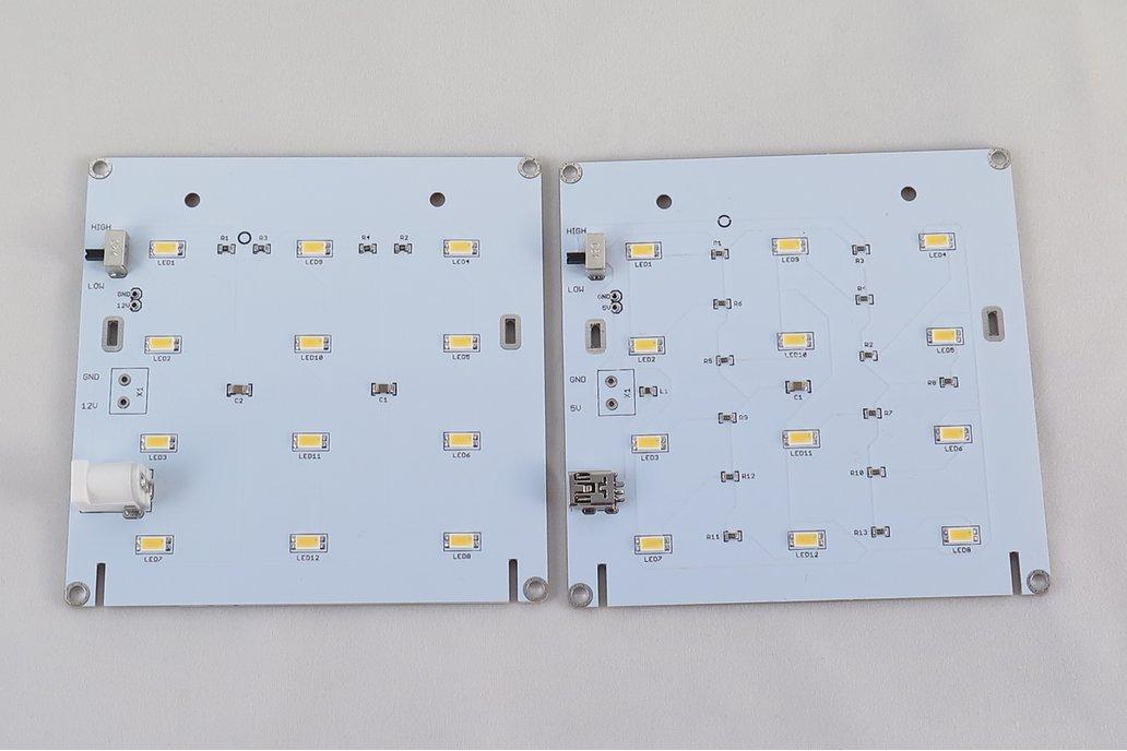 Backlight Stand for PCB Calendar 4
