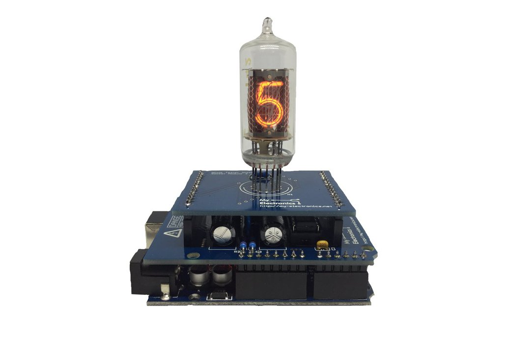Nixie Tube Shield Kit for Arduino