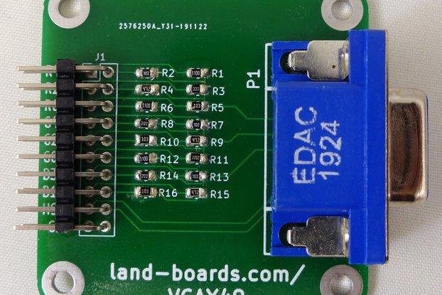 VGA Adapter (PCB Only) (VGAX49)