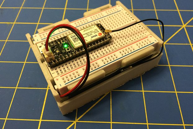 Electron Breadboard Box