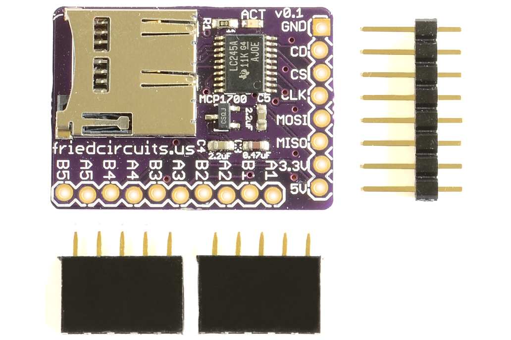 MicroSD Breakout+ 1