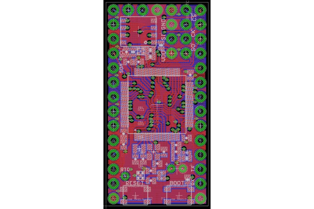 Dragonfly STM32L476/96 Development Board 6