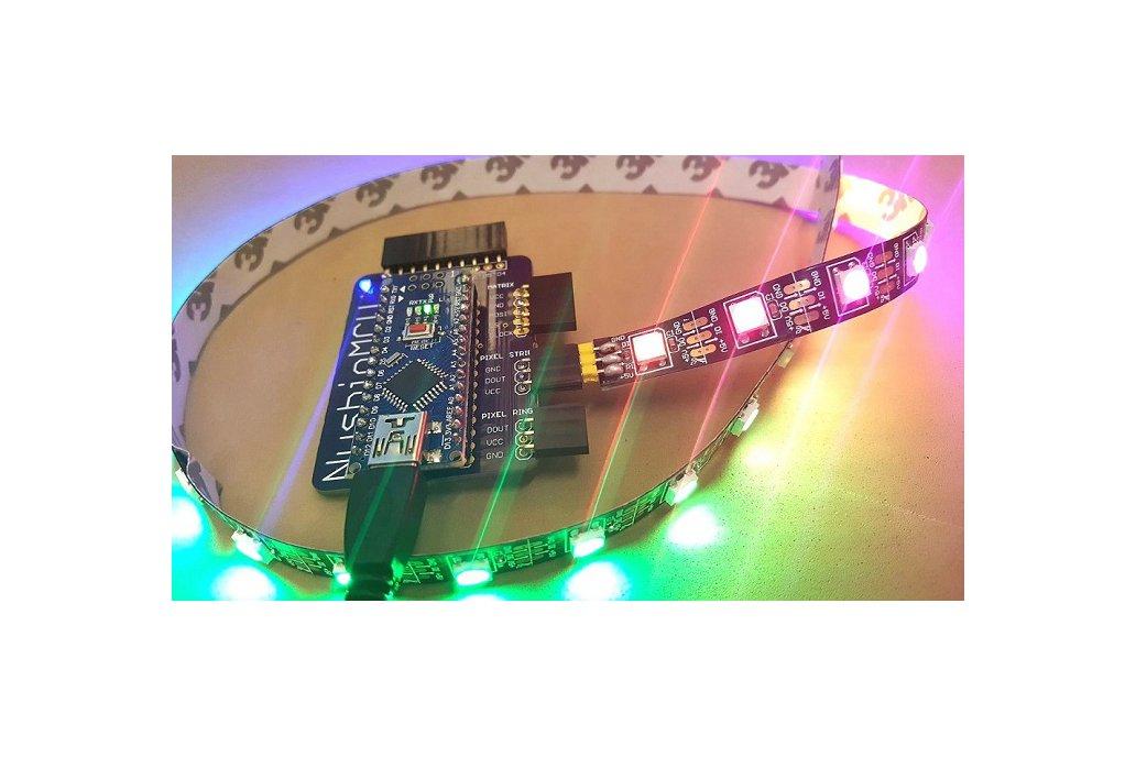 NusbioMCU + 30 RGB LED Strip for .NET 1