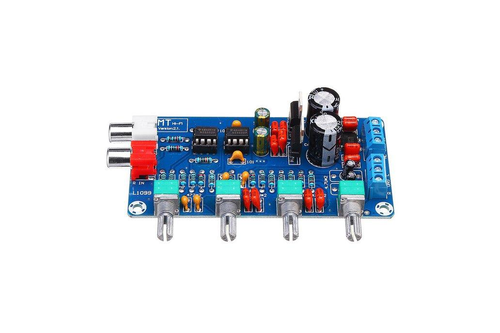 Amplifier Preamplifier Volume Tone Control Board 1