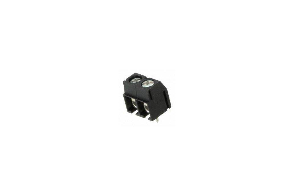 TERM BLOCK PCB 2POS 5.08MM BLACK 1