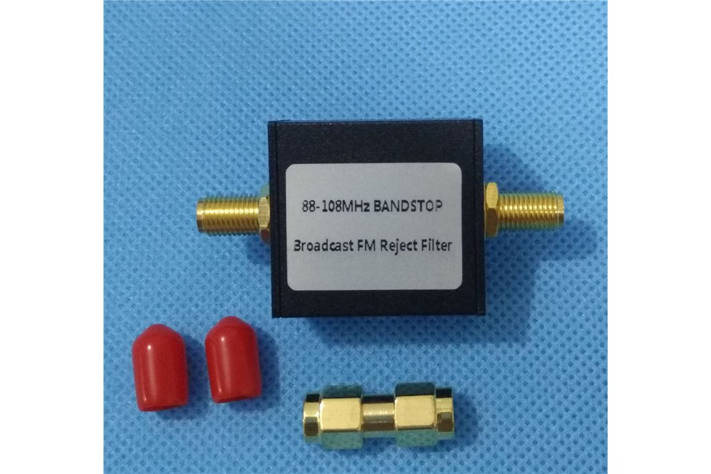 Broadcast FM Band Stop Filter 88 - 108 MHz FM Trap 1