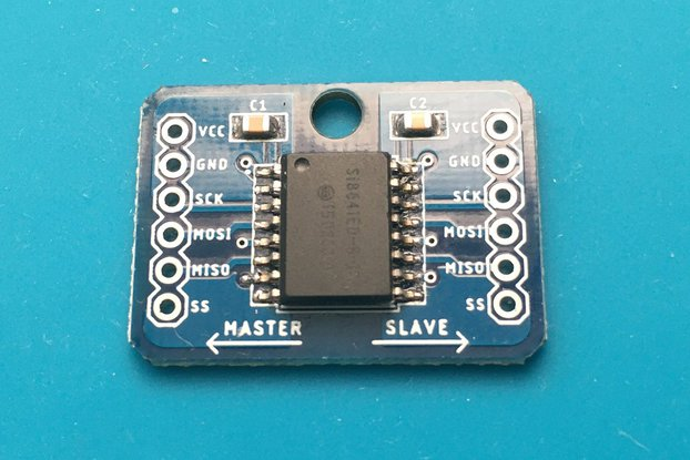 SPI Digital Isolator SI8641