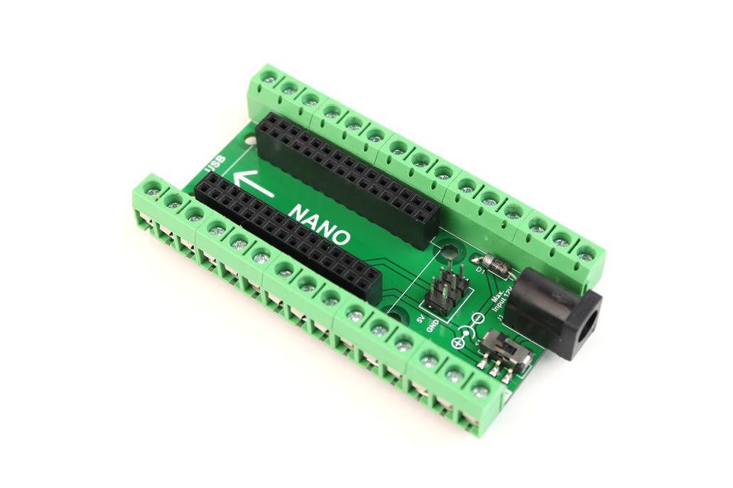 Arduino Nano Terminal Adaptor 1