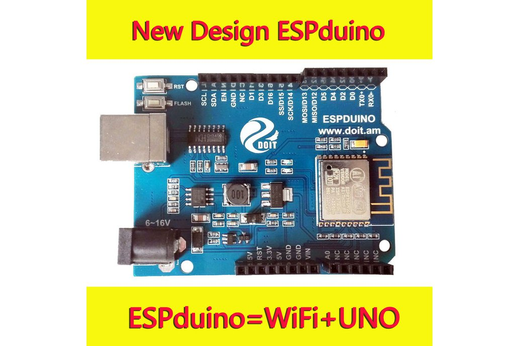 ESPDuino=WiFi +Arduino UNO R3 2