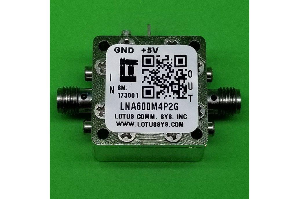 Amplifier LNA 0.6dB NF 600MHz to 4.2GHz 1