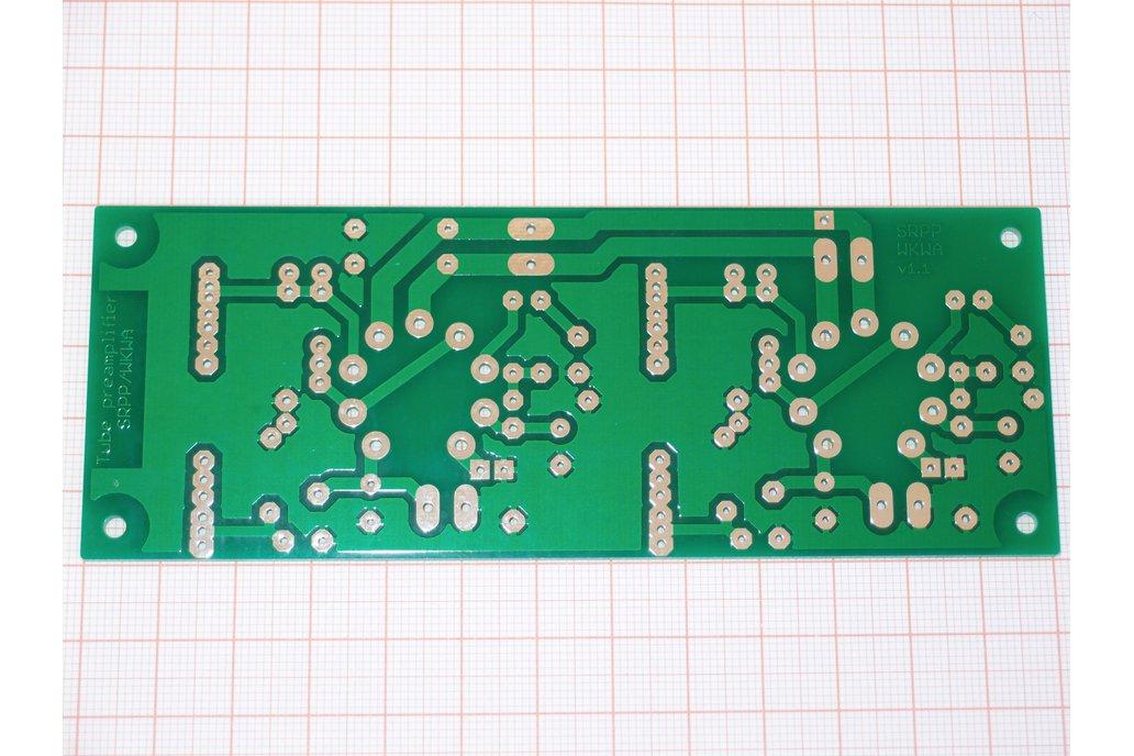 Universal PCB for tube pre SRPP/CCDA ECC88 ECC82 2