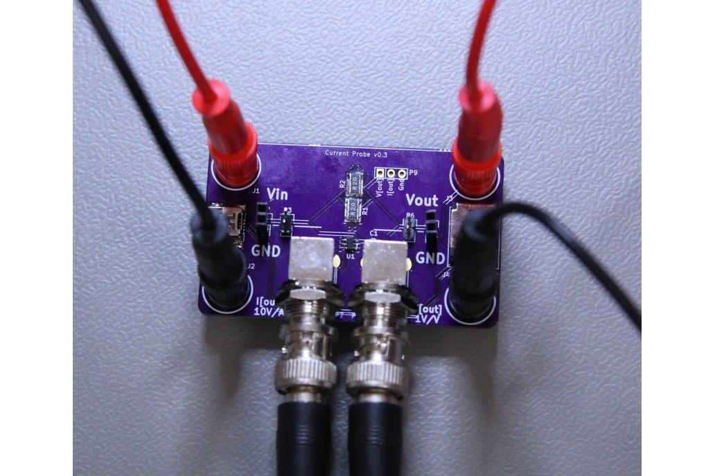 Oscilloscope Current Probe Adapter 5