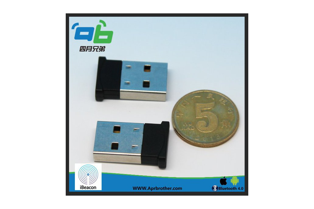 April Beacon 302 USB Dongle with iBeacon tech 1