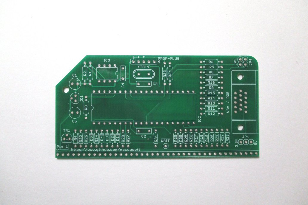 Graphics Video Card PCB for RC2014 1