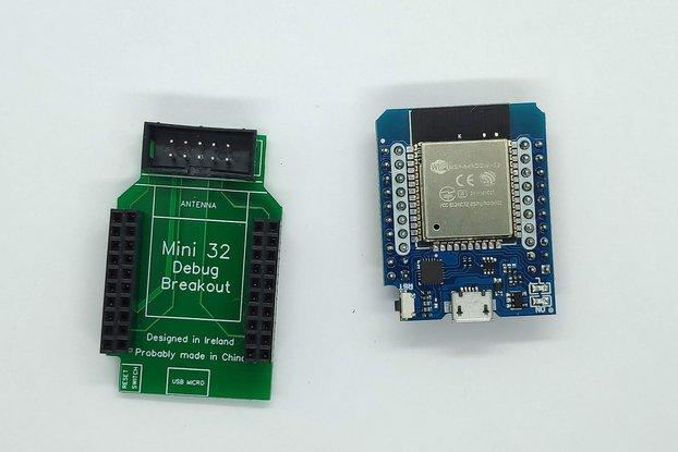 ESP32 MiniKit Debug Shield