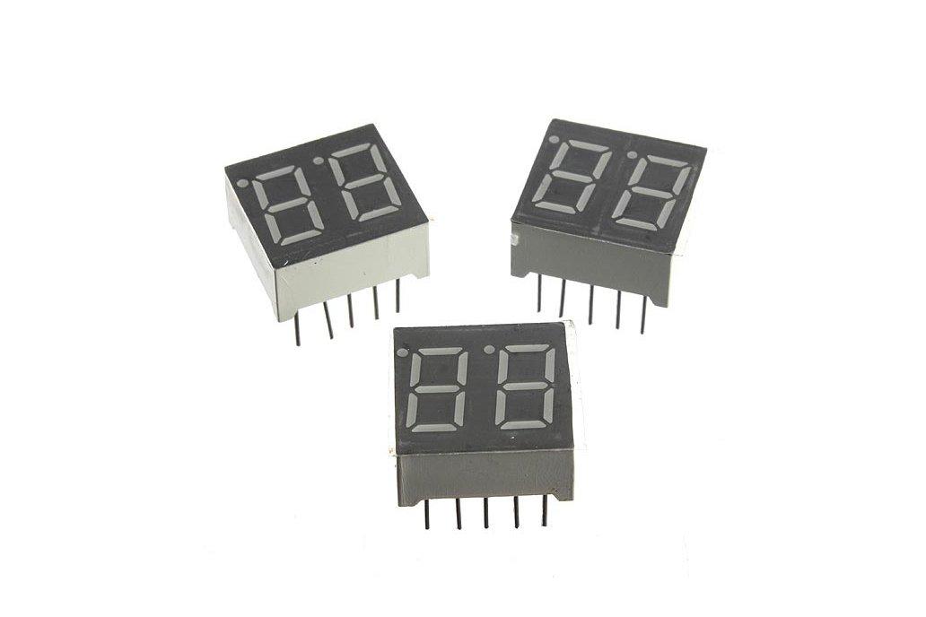 DIY 6 Digital LED Electronic Clock Kit  6
