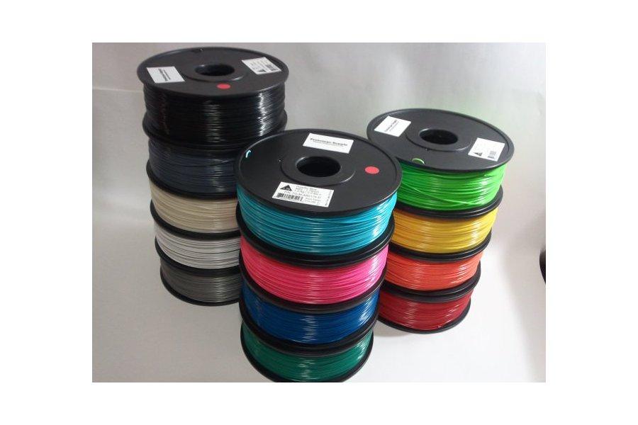 ABS 3D Filament (1.75 mm, 1 kg), 12+ colors!