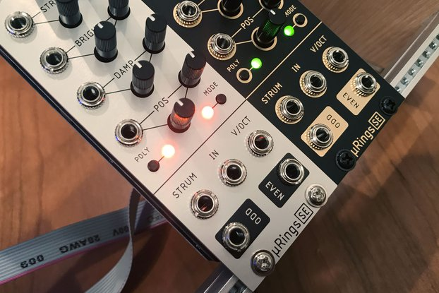 µRings SE (uRings, microRings) Eurorack [Rev C]