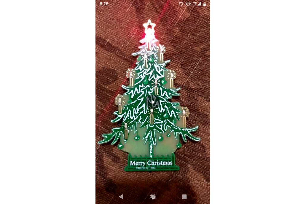 LED Christmas Tree Ornament 1