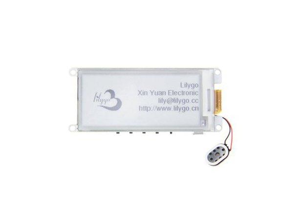 "LILYGO® TTGO T5 V2.2 ESP32 2.9"" EPaper Speaker"