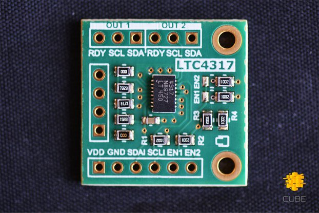 LTC4317 Dual I2C/SMBus Hardware Address Translator