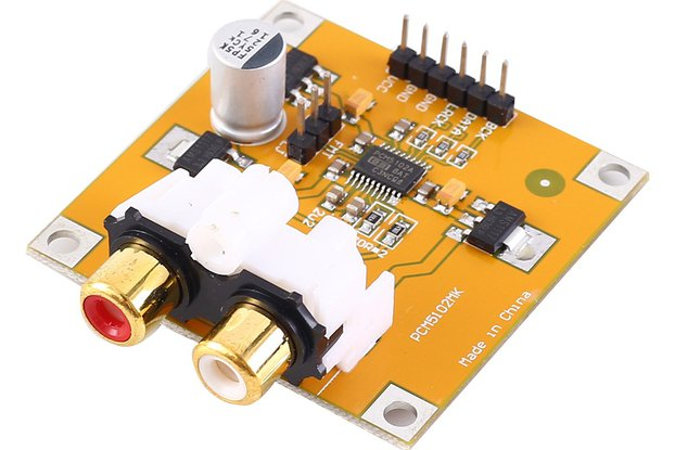 PCM5102 DAC Decoder Voice Playback Module_GY18073