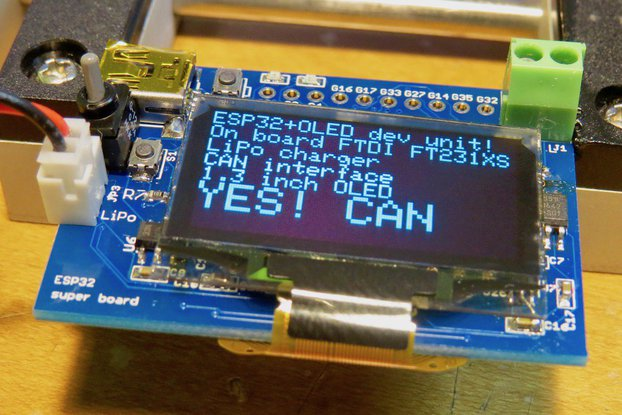 ESP32 CAN CAN board!!