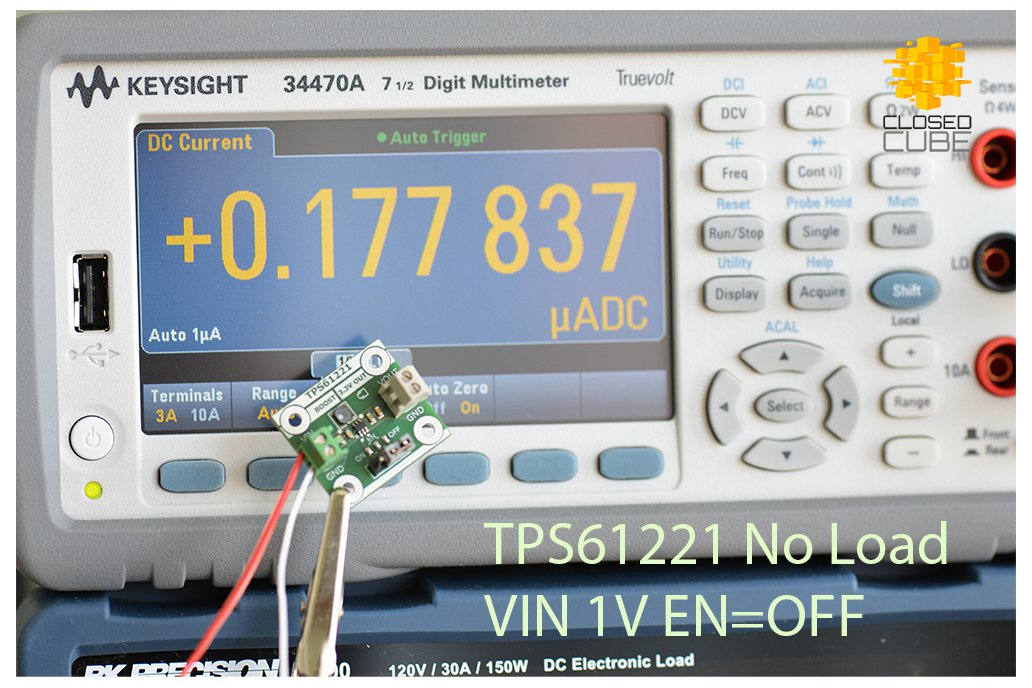 TPS61221 Low Input (from 0.7V) Boost 3.3V Breakout 7
