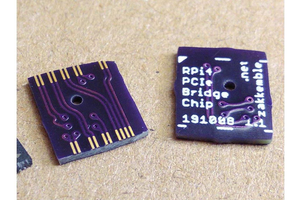 "Raspberry Pi 4 PCI-Express Bridge ""Chip"" 1"