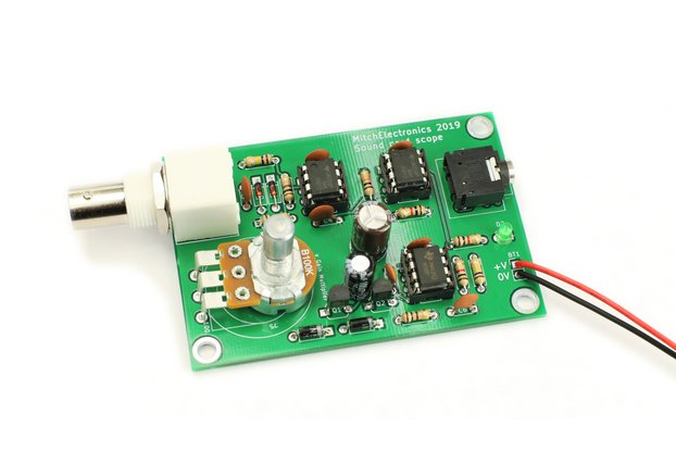 Sound Card Scope - Electronic Kit