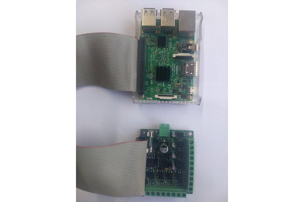 Isolated I/O Module for Raspberry Pi 4