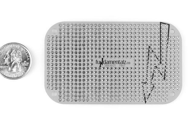 Mint Tin Proto Board