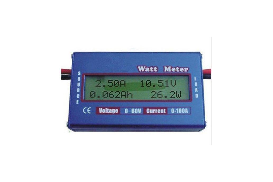 Energy analyser Watt metter Wh Ah Watts  Volt  Amp 1