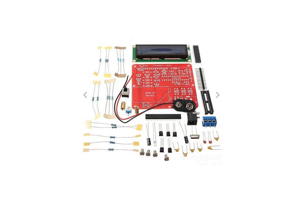 DIY Meter Tester Kit For Capacitance ESR Inductance Resistor NPN PNP Mosfet M168 1