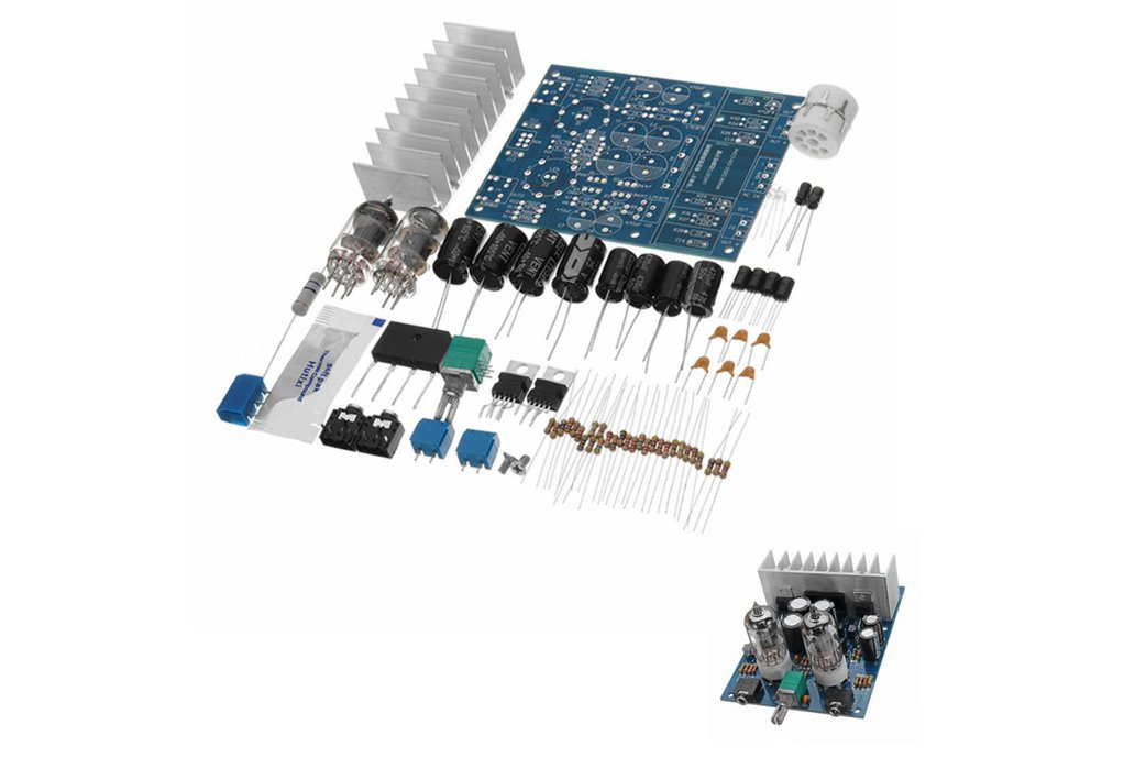 Loose Parts DIY Hifi Fever 6j1 Electron Tube Front 1