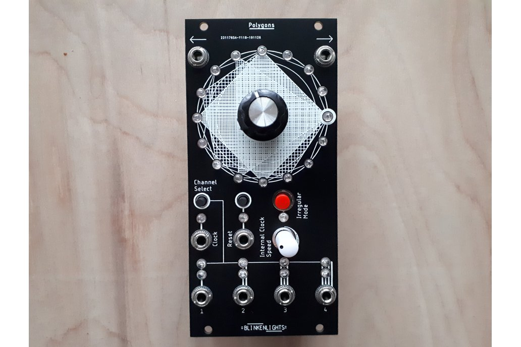 Polygons Kit- Gate Sequencer for Eurorack - 12HP 1