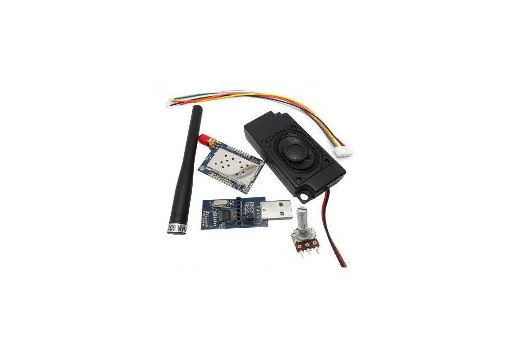 SA828 1W All-in-One Walkie Talkie Module kit 1