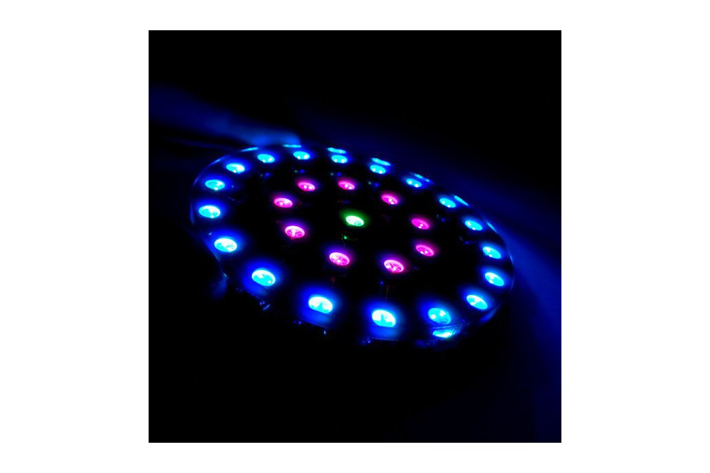 DIY Wearable RGB LED Crystal Energy Ring Kit 1