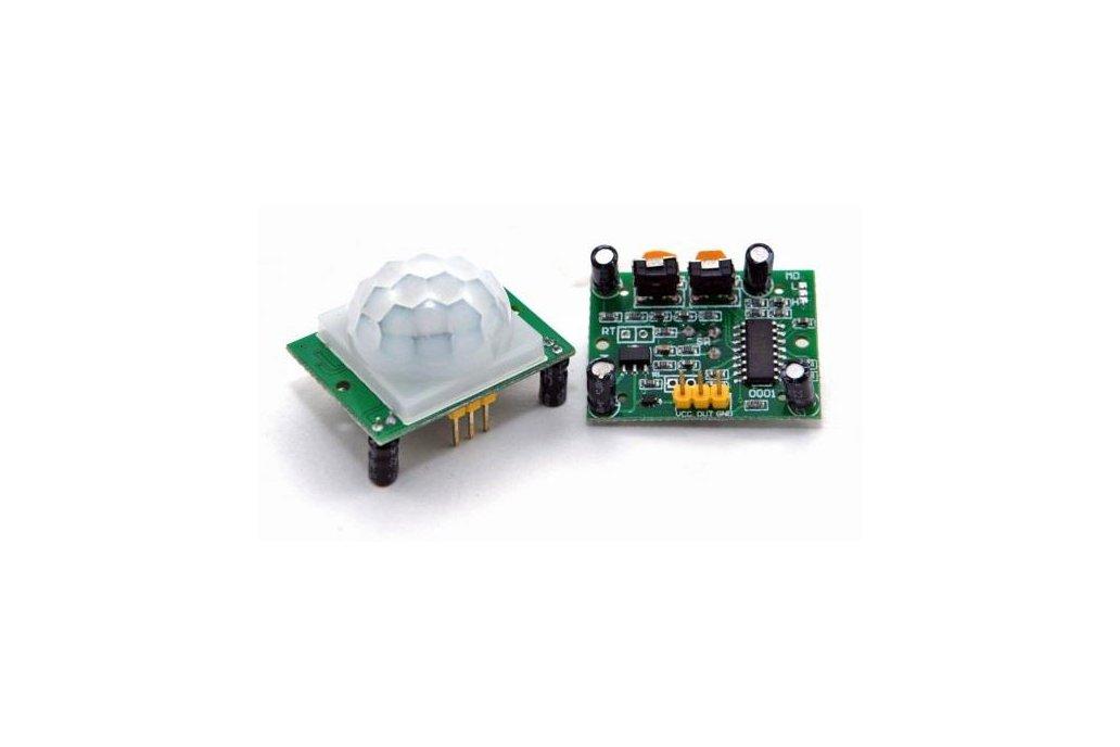 Passive Infrared Motion Sensor (HC-SR501) 1