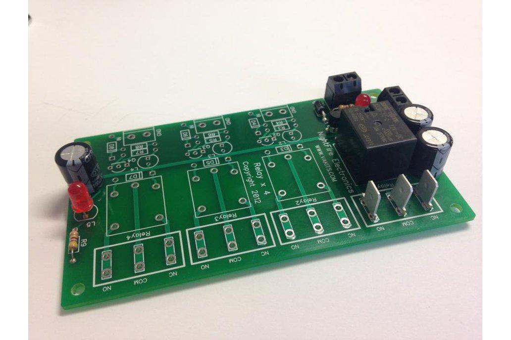 1 Relay, 9v, I/O Module Kit (#5564-1) 1
