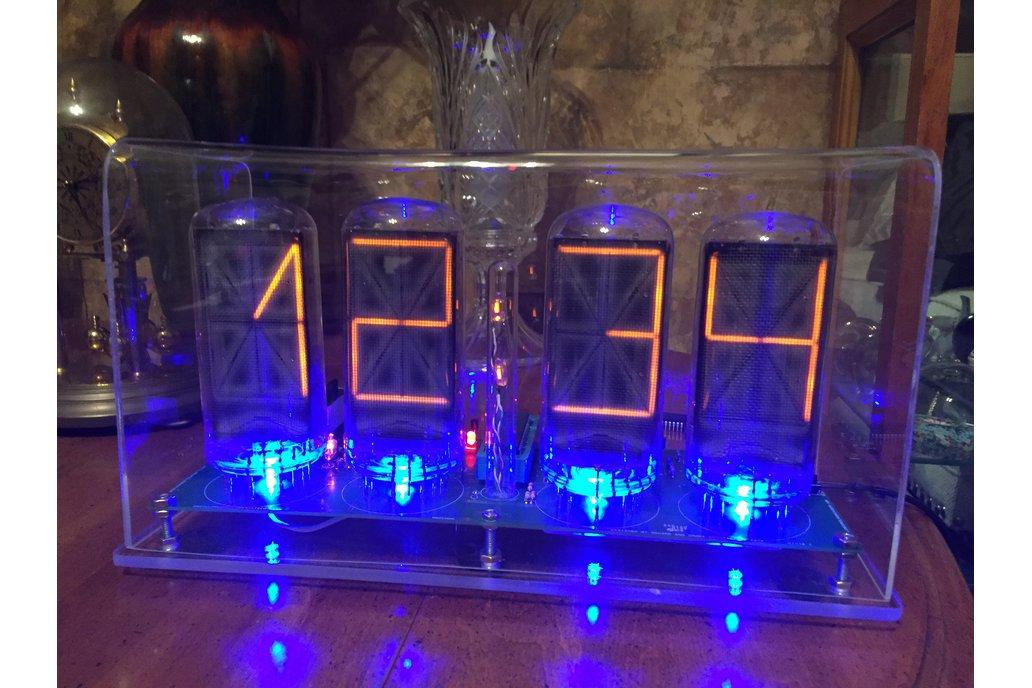 B7971 Nixie clock alphanumeric nixie tubes wifi 1