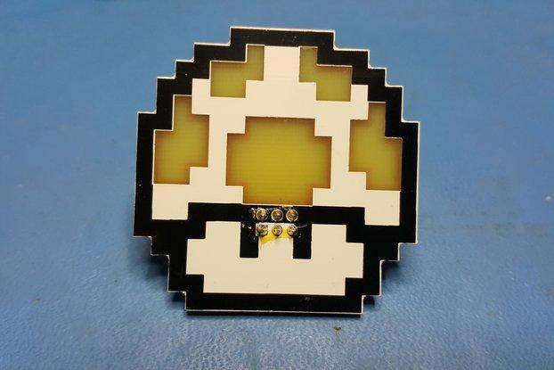 8-Bit 1-Up Mushroom SAO