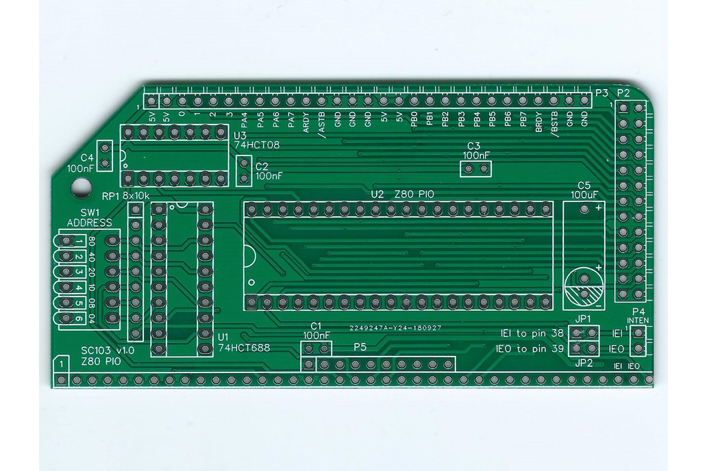 SC103 Z80 PIO Board for RC2014 1
