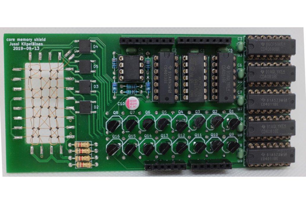 Core Memory Shield for Arduino 1