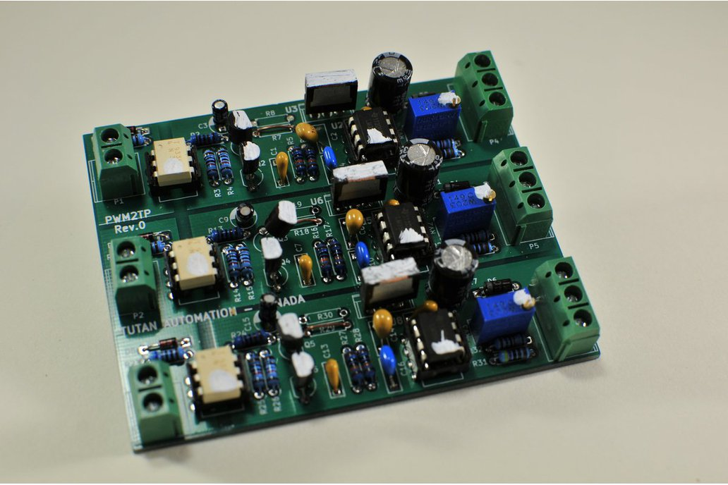 Isolated 3 channel PWM to Analog Converter 2
