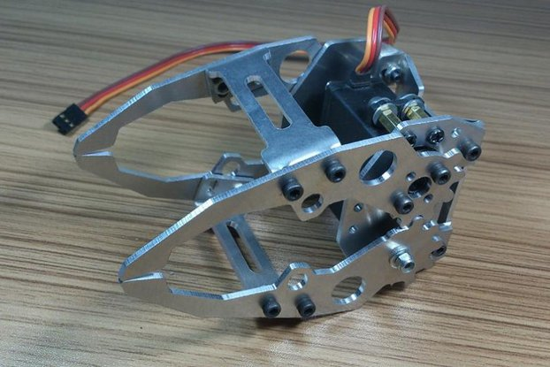 metal Mechanical hand robotic paw arm