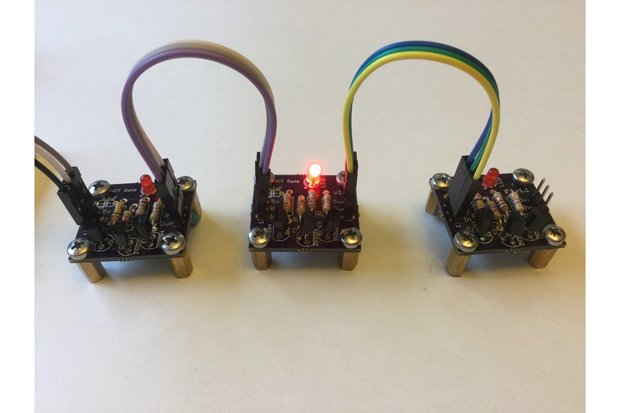 Transistor Based NOT Gate
