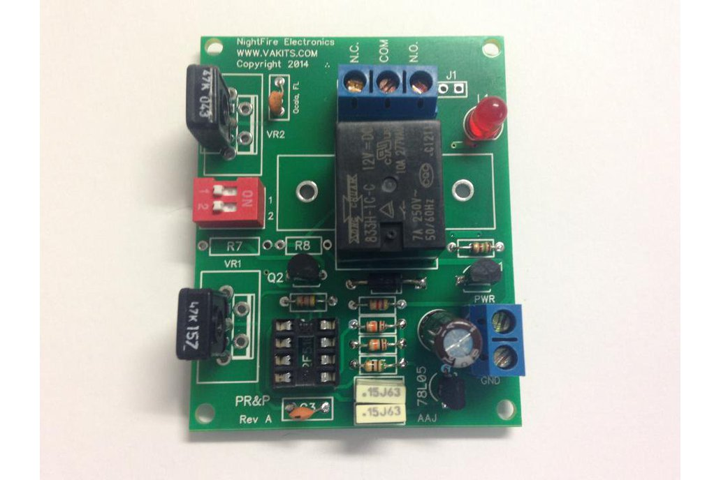 Timer with Adjustable ON & OFF Times, 6v Relay (#5484) 1