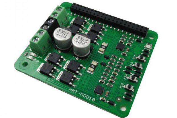 2x10A Motor Driver HAT For Rasberry PI